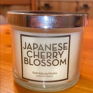 Japanese Cherry Blossom 4 oz Single Wick Candle